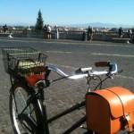 Una bicicletta elettrica a Roma