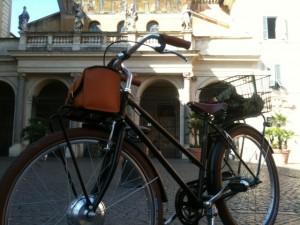 bicicletta elettrica a Roma