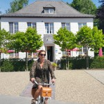 Christel and her e-bike country in Belgium